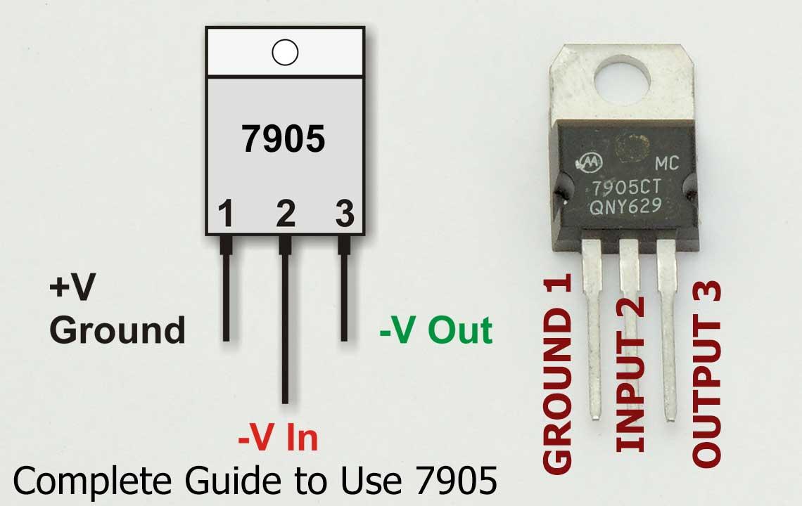 7905 Pins Diagram